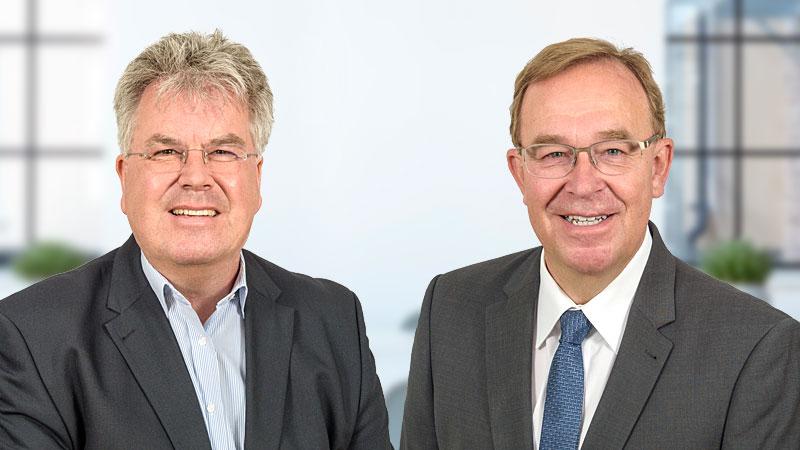 Thomas Müthlein und Harald Schiller