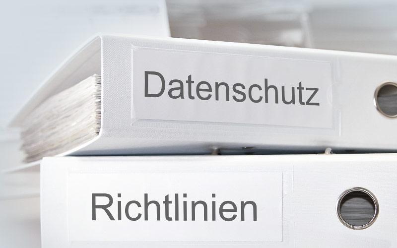 Datenschutz Management Organisation Richtlinien