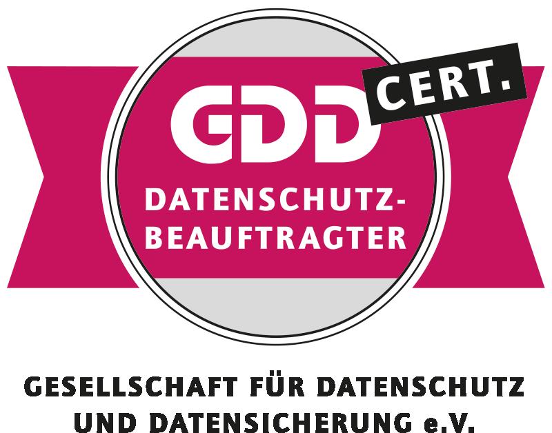 GDD CERT Datenschutzbeauftragter