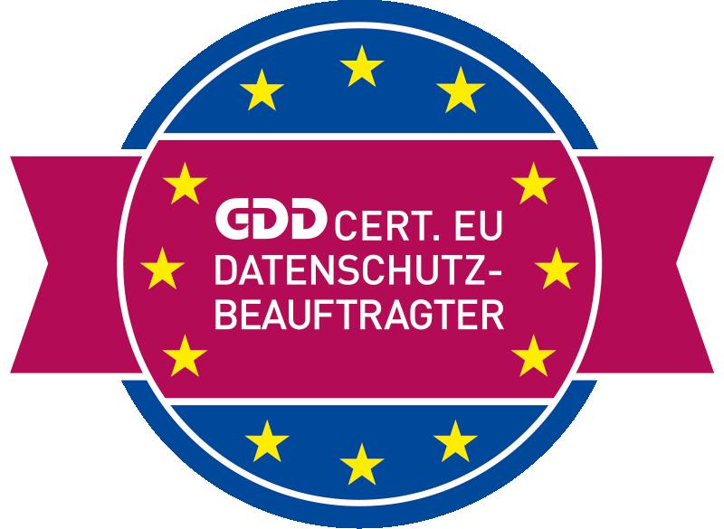 GDD CERT EU Datenschutzbeauftragter