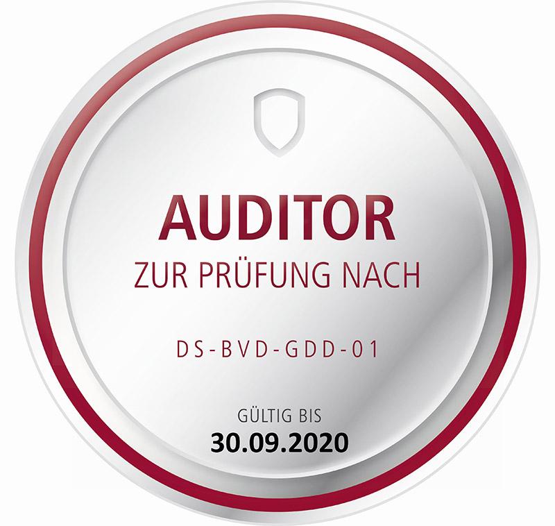 Auditor DS BVD GDD